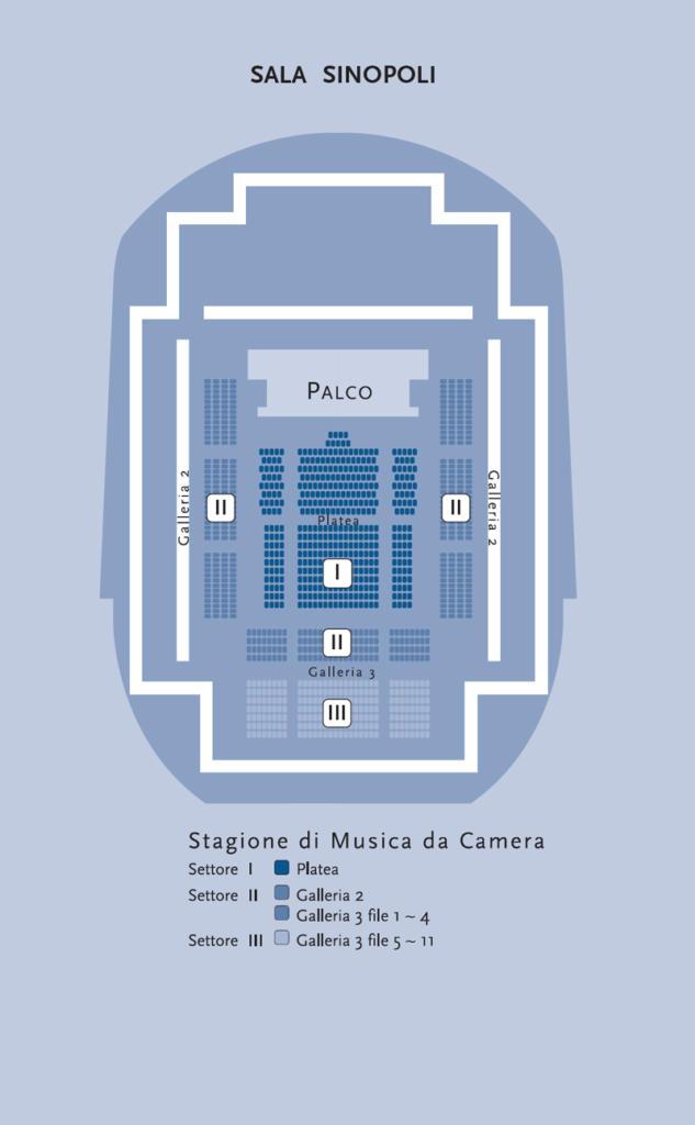 Sinopoli Hall - Auditorium parco della musica - Roma