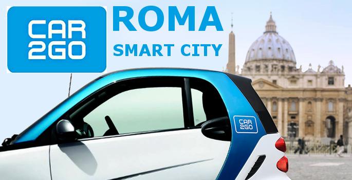 Roma_Smart_City _Smart2go_rent_car_affitta_auto_Rome