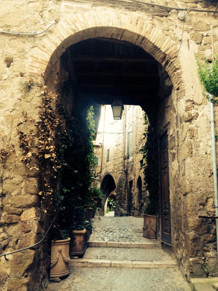 Roma-Lazio_percorso_route-Sacrofano-Formello_porta