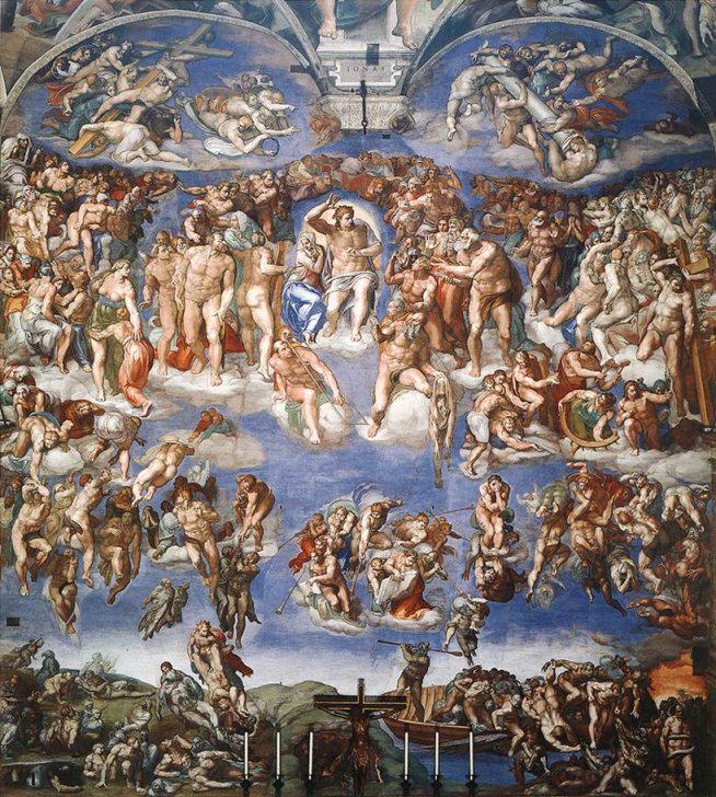 Michelangelo_Giuduzio-Universale_Jugement_dernier