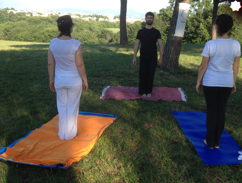 Yoga a Villa Pamphili