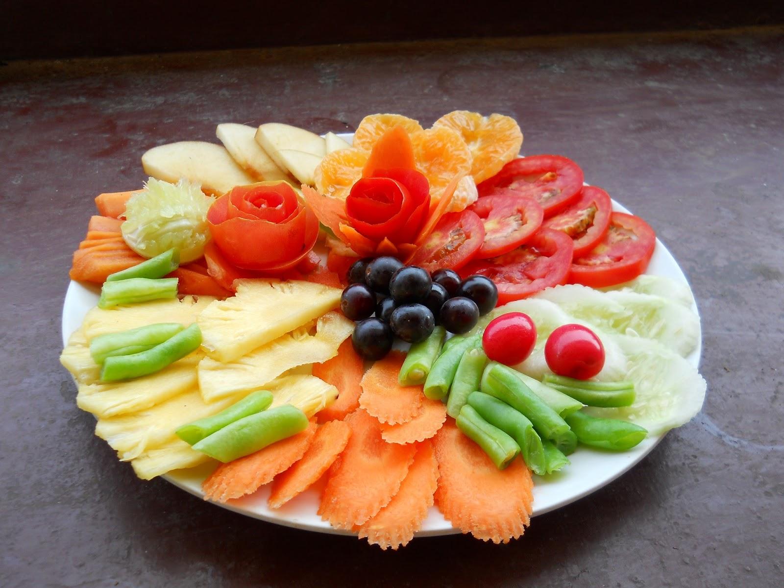 Ricetta biscotti torta piatti a base di verdura - Piatti di frutta decorati ...