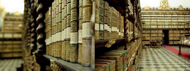 panoramica libri antichi