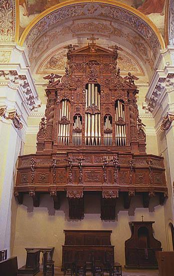 """Organo Munumentale della Chiesa del Ruscello dove nel 1707 Haendel eseguì il """"Salve Regina"""""""