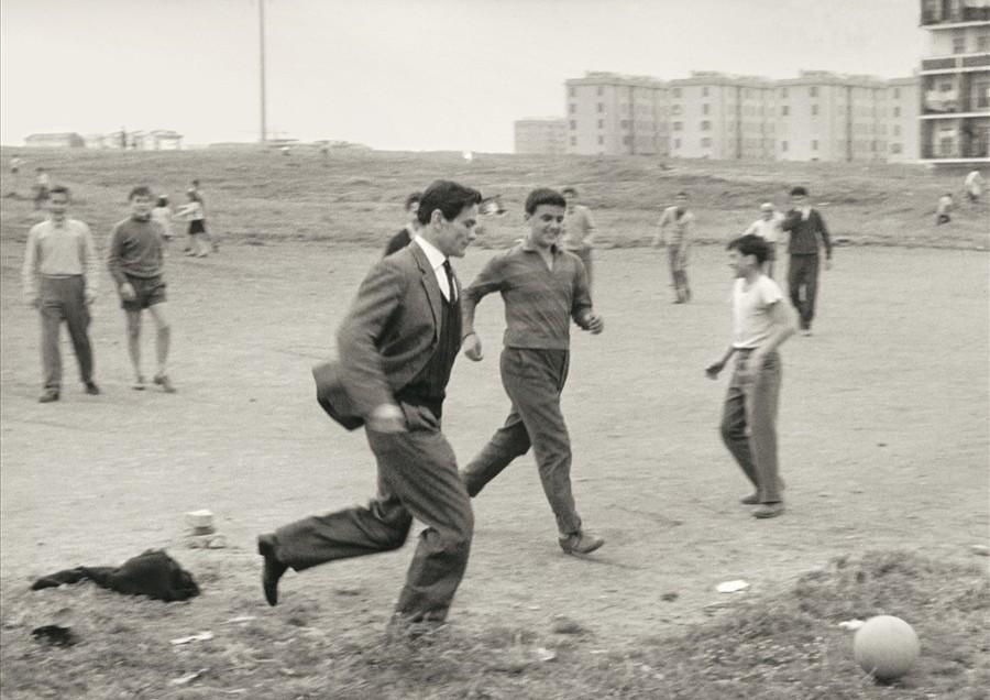 Pasolini, Borgata Quarticciolo (Roma, 1960)