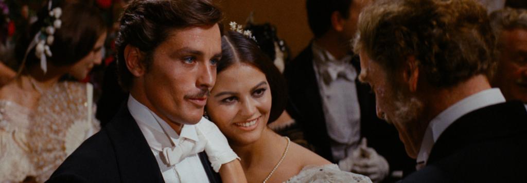 Burt Lancaster, Alain Delon, Claudia Cardinale.Il Gattopardo 1963 diretto da Luchino Visconti