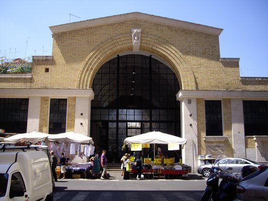 Mercato (Market) Rionale Piazza Alessandria - Rome, Roma, Italy