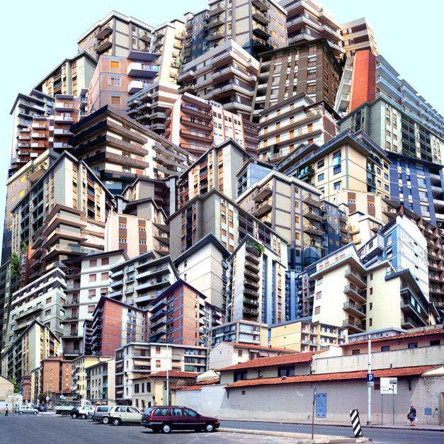 Agglomerato 9 - 70x70 cm - C-Print su D Bond 1997. Foto di Giacomo Costa