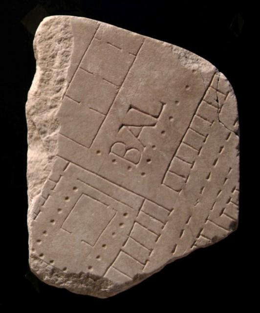 10 - Frammenti della Forma Urbis Gruppo tempio di Minerva