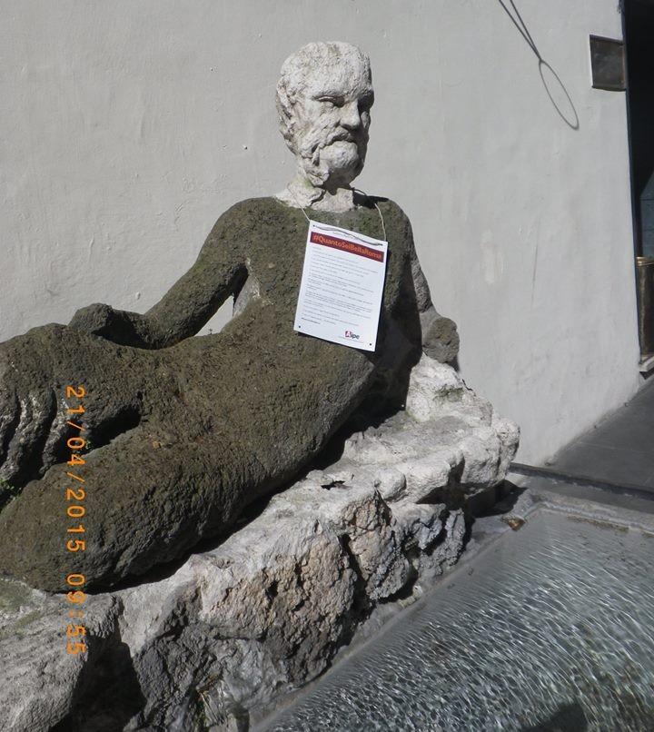 Roma_quantoseibellaroma_Aipe_WAYAP_cartelli-stradali_billboard_statua