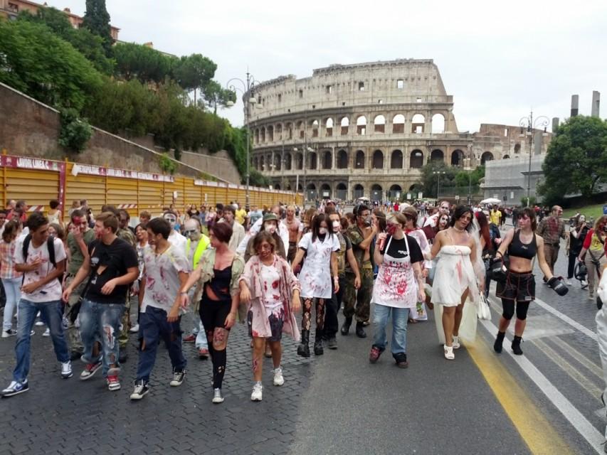 Zombie Walk a Roma - Foto by Valentin Morariu