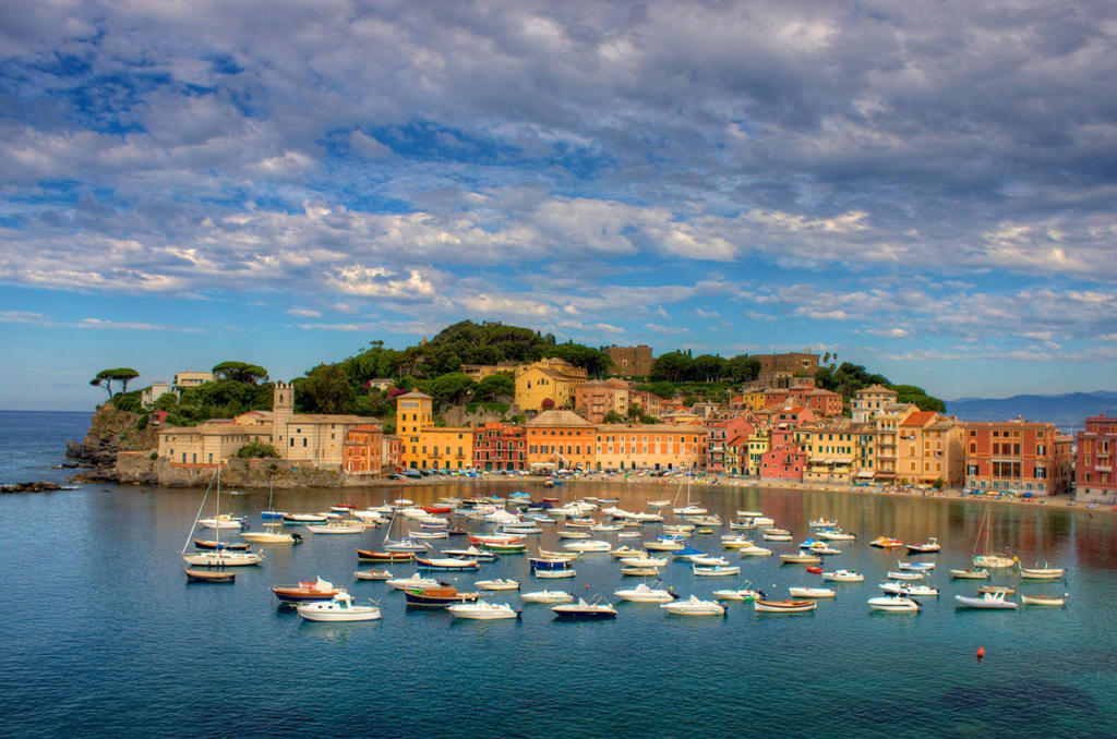 Sestri Levante and Baia del Silenzio, the Bay of Silence From Wikimedia Commons, the free media repository