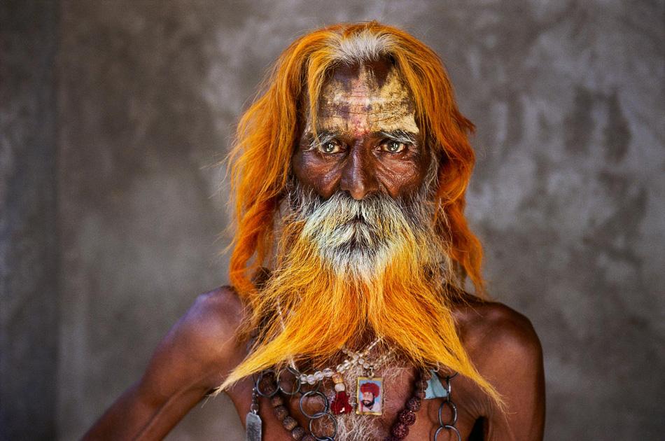 Un uomo anziano della tribù Rabari, Rajasthan, 2010