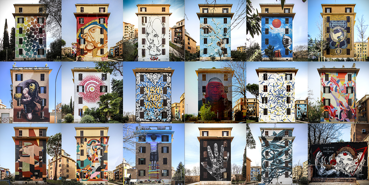 Rome Street Art District: Ostiense, Garbatella e Tor ...