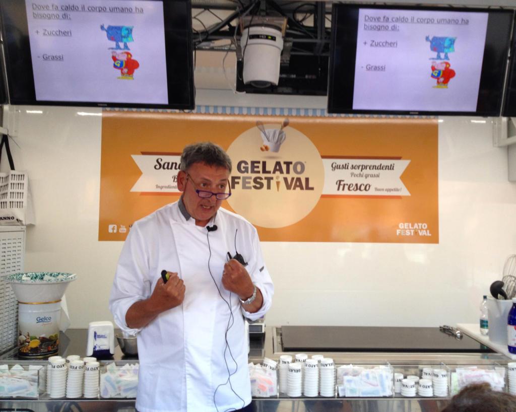 Il maestro gelatiere Angelo Grasso
