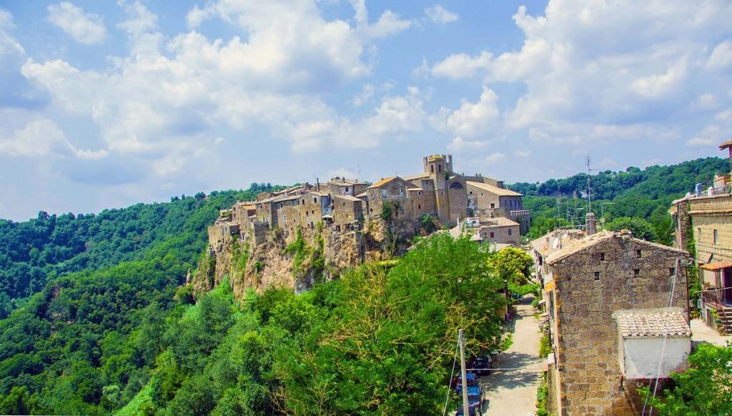 CALCATA borgo medievale di artisti