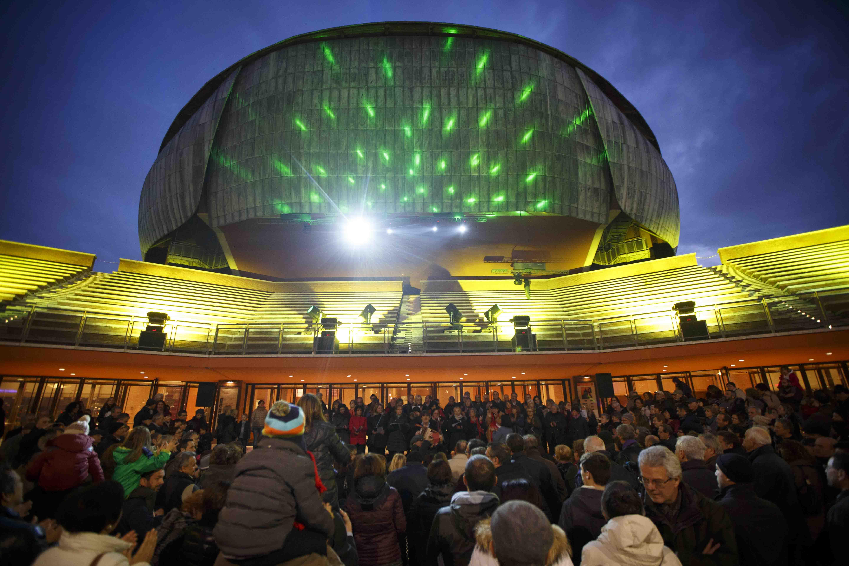 Le feste di natale all 39 auditorium di roma rome central for Auditorium parco della musica sala santa cecilia posti migliori