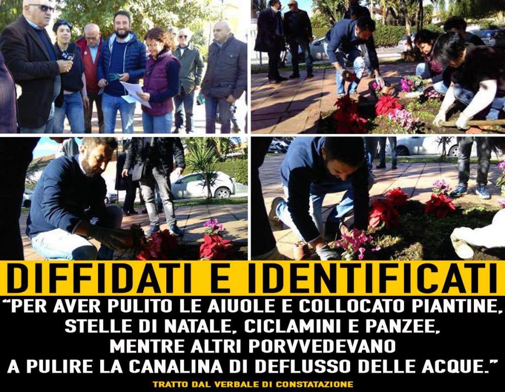 Pulizia-volontari_montagnola_Roma_diffidati