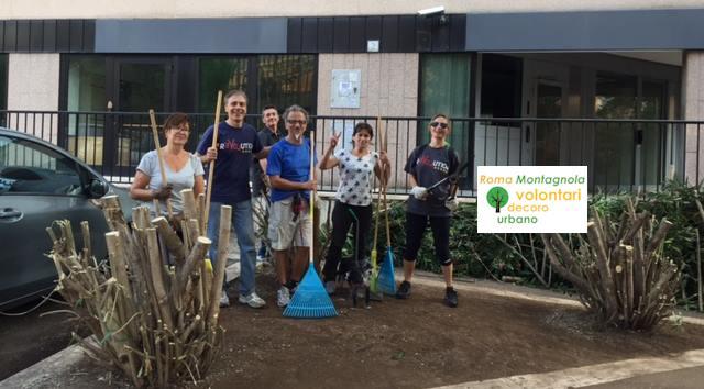 Volontari-pulizie-parchi_rinascita-montagnola_Roma
