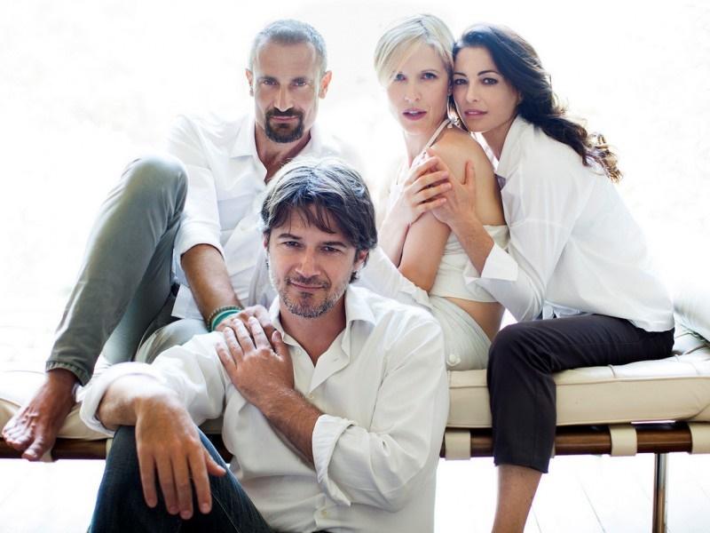 L-amore-migliora-la-vita_il-cast_ETTORE BASSI, GAIA DE LAURENTIIS, ELEONORA IVONE, GIORGIO BORGHETTI