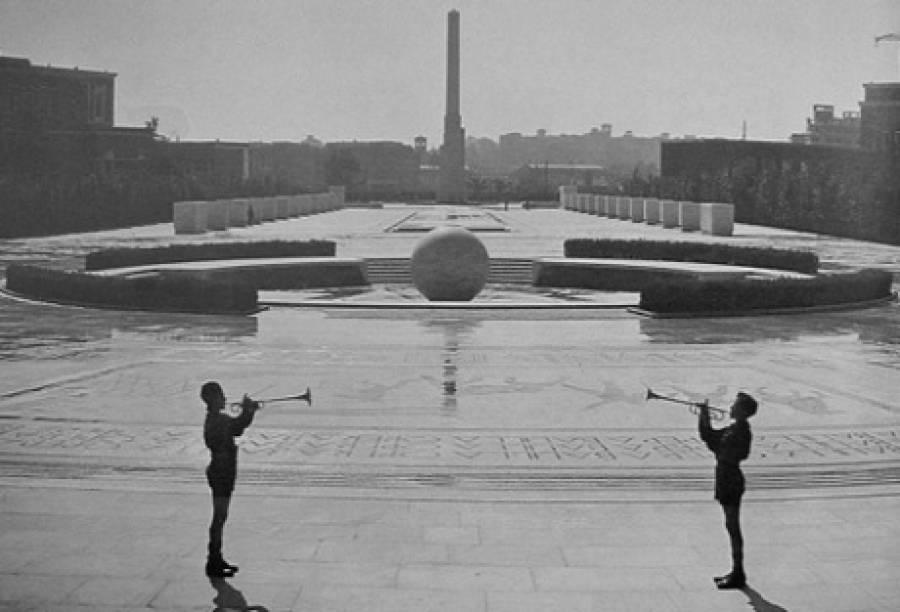 Foro italico (Foro-Mussolini), foto d'epoca