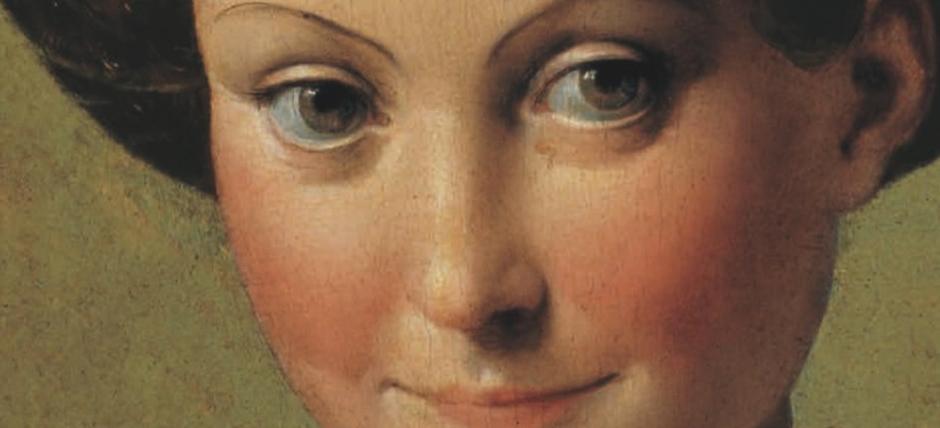 Parmigianino (Francesco Mazzola), Ritratto Di Giovane Donna Detta U201cSchiava  Turcau201d