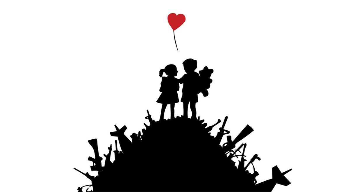 Banksy_2003_Kids on guns_spray_mostraroma_rc