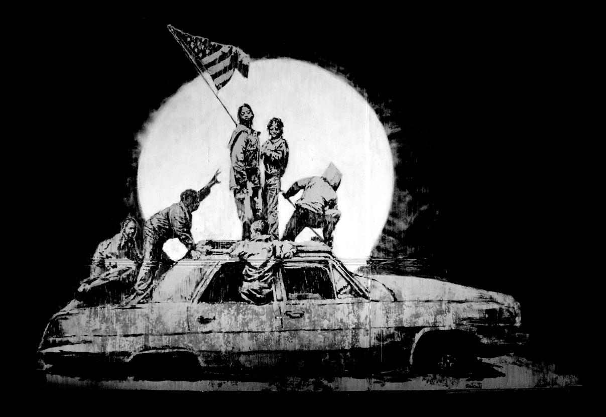 Banksy_2007_Flags_screenprint_mostraroma_rc