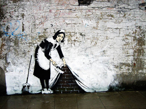 donnacontappeto_banksy_rc