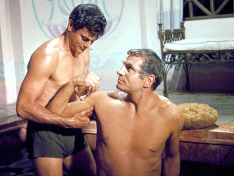 Roman-empire_movie_Spartacus_1960_Tony-Curtis_Laurence-Olivier