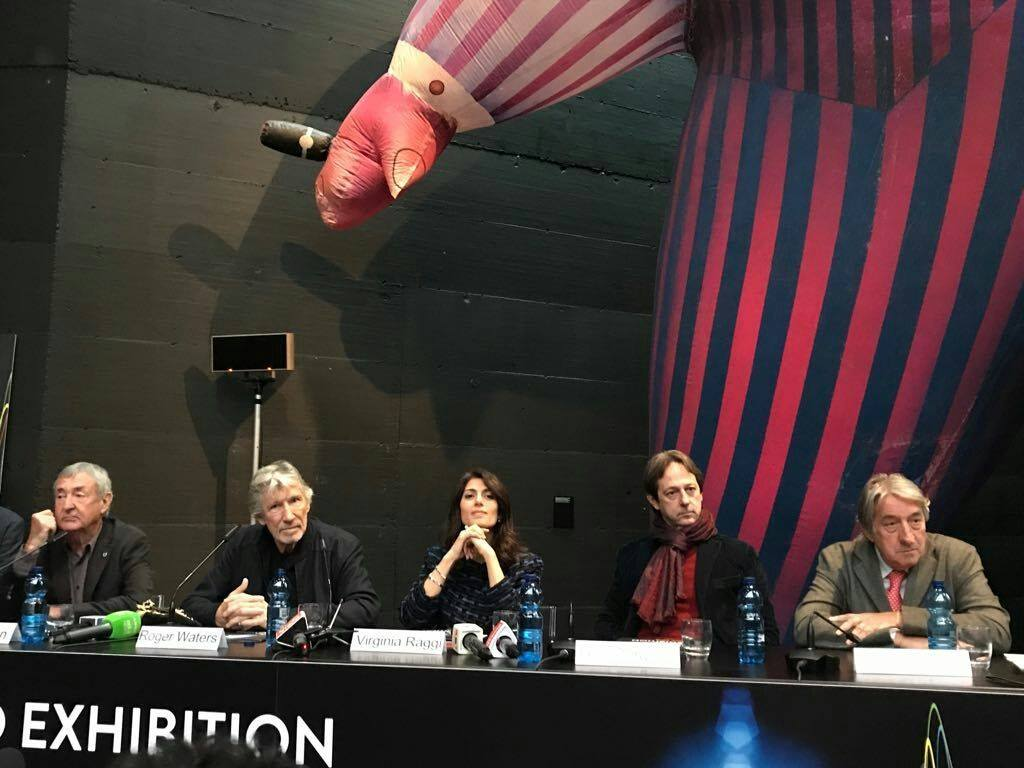 The pink floyd exhibition their mortal remains rome 2018 for Pink floyd exhibition