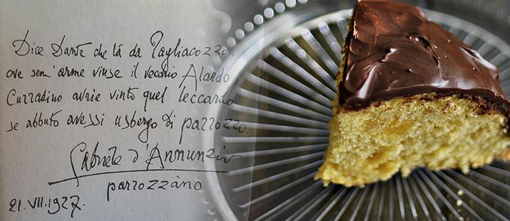Il dolce di Natale preferito da Gabriele D Annunzio  Il Parrozzo ... ac32c68d440