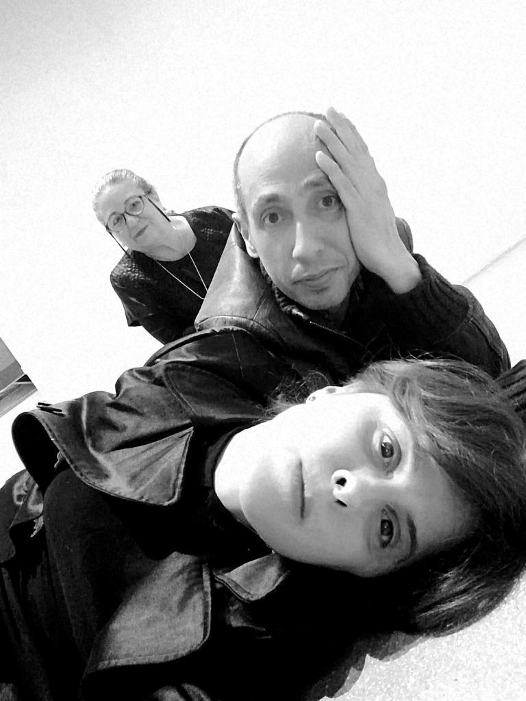 Monica Pirone e Sergio Angeli